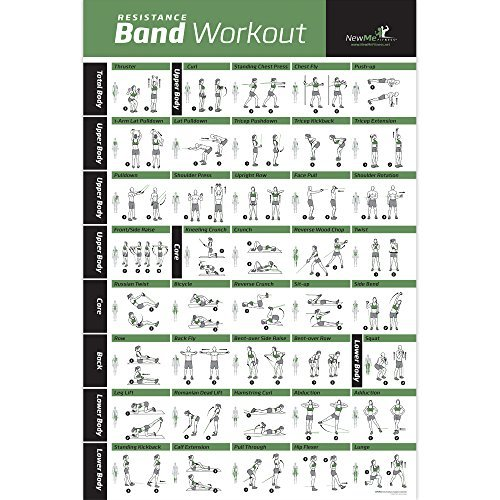 4-Pack-Laminated-Home-Gym-Exercise-Posters-BODYWEIGHT-Stretching-Resistance-Stability-Ball-Build-Muscle-Tone-and-Strengthen-Your-Entire-Body-Large-and-Easy-to-Follow-Fitness-Chart-0-1