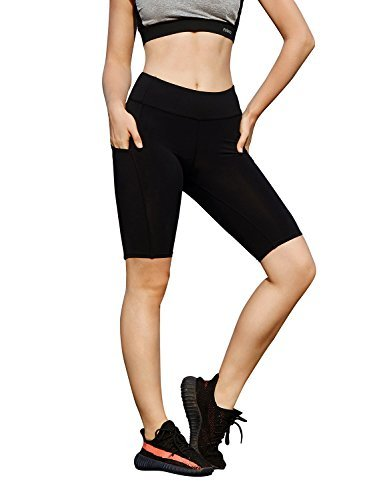 AJISAI-Womens-85-Pro-Compression-Athletic-Yoga-Running-Workout-Shorts-Tights-0