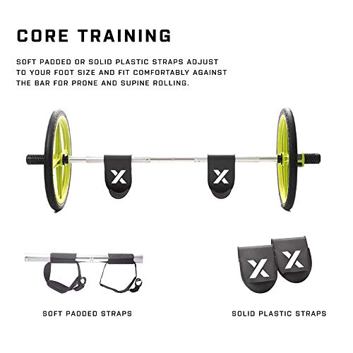 AXLE-Versatile-Olympic-Barbell-with-Optional-Weighted-Olympic-Plate-Loading-Fully-Collapsible-0-1
