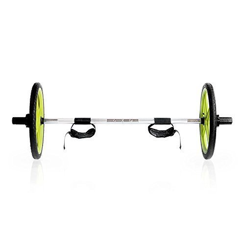 AXLE-Versatile-Olympic-Barbell-with-Optional-Weighted-Olympic-Plate-Loading-Fully-Collapsible-0