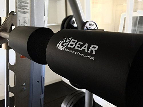 BEAR-STRENGTH-CONDITIONING-Next-Generation-Squat-Pad-Comfortable-Barbell-Sponge-for-Hip-Thrusts-Squats-and-Lunges-0-6