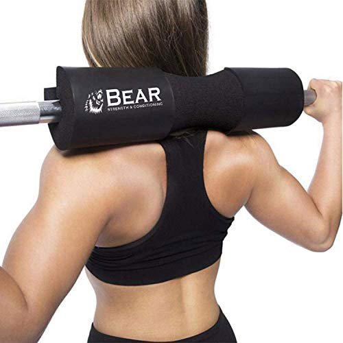 BEAR-STRENGTH-CONDITIONING-Next-Generation-Squat-Pad-Comfortable-Barbell-Sponge-for-Hip-Thrusts-Squats-and-Lunges-0-7