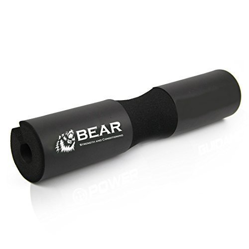 BEAR-STRENGTH-CONDITIONING-Next-Generation-Squat-Pad-Comfortable-Barbell-Sponge-for-Hip-Thrusts-Squats-and-Lunges-0