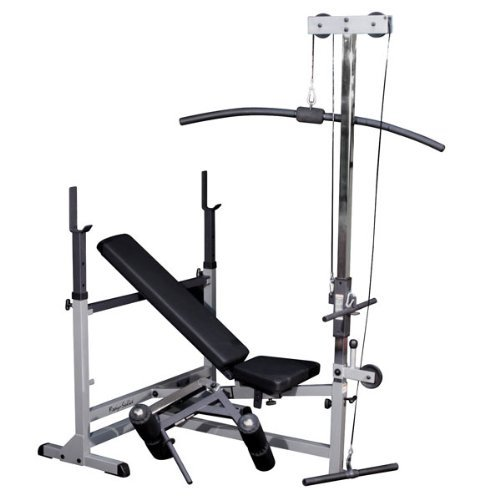 Body-Solid-Powercenter-Olympic-Combo-Bench-with-Preacher-Curl-and-Lat-Pulldown-Attachment-GDIB46LP4-0
