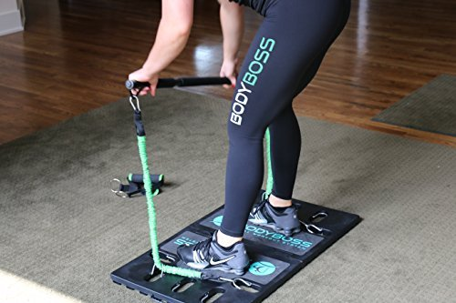 BodyBoss-Home-Gym-20-Full-Portable-Gym-Home-Workout-Package-1-Set-of-Resistance-Bands-Collapsible-Resistance-Bar-Handles-Full-Body-Workouts-for-Home-Travel-or-Outside-0-4