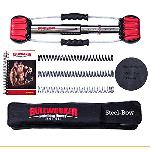 Bullworker-20-Steel-Bow-Full-Body-Workout-Portable-Home-Gym-Isometric-Exercise-Equipment-for-Fast-Strength-Training-Gains-Cross-Training-Fitness-Chest-Back-Arms-and-Abs-Exercise-Machine-0