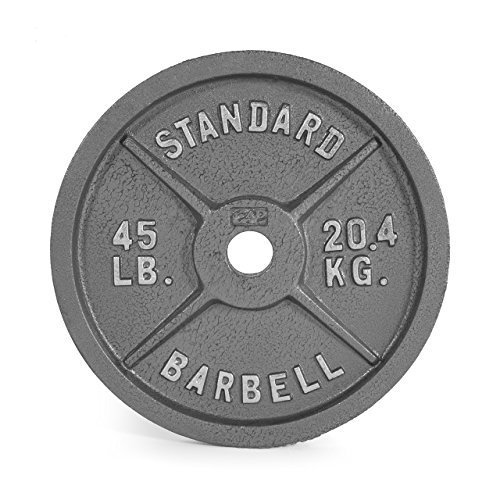 Cap-Barbell-Olympic-2-Inch-Weight-Plate-Gray-Single-0