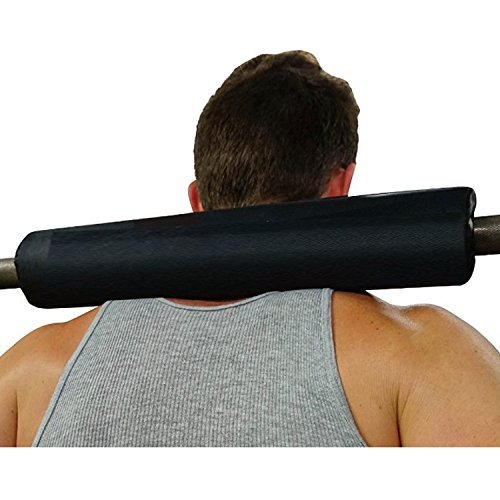 Dark-Iron-Fitness-17-Extra-Thick-Barbell-Neck-Pad-Shoulder-Support-for-Weight-Lifting-Crossfit-Powerlifting-More-Fits-2-Inch-Olympic-Size-Bars-and-a-Smith-Machine-Bar-Perfectly-0
