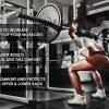 Fit-Viva-Barbell-Pad-for-Standard-and-Olympic-Barbells-with-Safety-Straps-Bonus-30-Day-Challenge-from-Foam-Pad-for-Weightlifting-Hip-Thrusts-Squats-and-Lunges-0-2