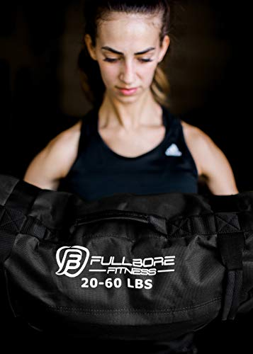 Fullbore-Fitness-Adjustable-Weight-Sandbags-for-Fitness-Workout-Exercise-and-Weight-Training-Great-Sandbag-Weights-for-Home-Gym-and-Cross-Training-20-60-lbs-0-7