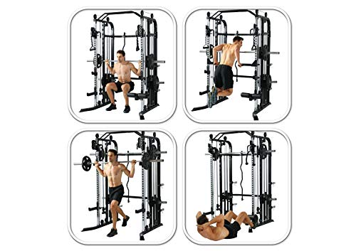 Functional-Trainer-Smith-Machine-Combo-All-in-One-Commercial-Grade-Ultimate-Home-Gym-Machine-Complete-Strength-Solution-MiM-USA-SMFT-1001-Pro-0-3