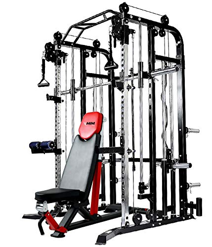 Functional-Trainer-Smith-Machine-Combo-All-in-One-Commercial-Grade-Ultimate-Home-Gym-Machine-Complete-Strength-Solution-MiM-USA-SMFT-1001-Pro-0-4