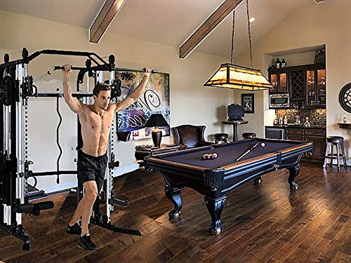 Functional-Trainer-Smith-Machine-Combo-All-in-One-Commercial-Grade-Ultimate-Home-Gym-Machine-Complete-Strength-Solution-MiM-USA-SMFT-1001-Pro-0-5