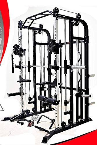 Functional-Trainer-Smith-Machine-Combo-All-in-One-Commercial-Grade-Ultimate-Home-Gym-Machine-Complete-Strength-Solution-MiM-USA-SMFT-1001-Pro-0-6