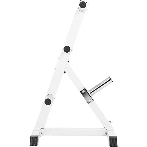 GORILLA-SPORTS-Olympic-2-inch-Plate-Tree-White--Bar-Rack-with-7-Branches-770-lbs-rated-0-4