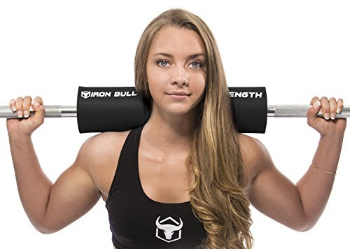 Iron-Bull-Strength-Advanced-Squat-Pad-Barbell-Pad-Squats-Lunges-Hip-Thrusts-Neck-Shoulder-Protective-Pad-Support-0-1