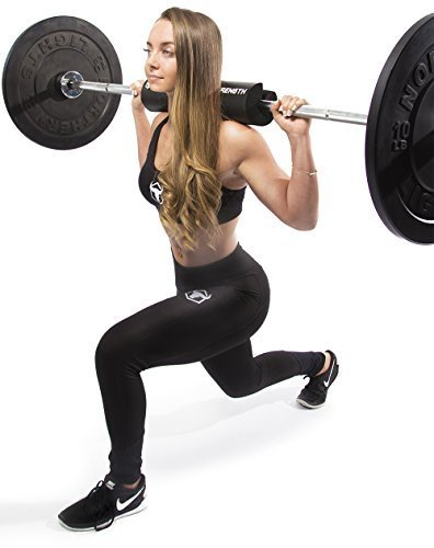 Iron-Bull-Strength-Advanced-Squat-Pad-Barbell-Pad-Squats-Lunges-Hip-Thrusts-Neck-Shoulder-Protective-Pad-Support-0-2