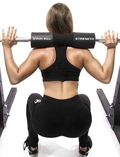 Iron-Bull-Strength-Advanced-Squat-Pad-Barbell-Pad-Squats-Lunges-Hip-Thrusts-Neck-Shoulder-Protective-Pad-Support-0-3