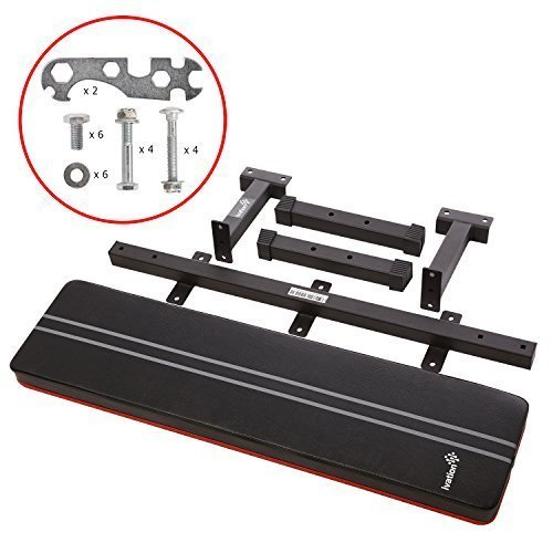 Ivation-1000-Lb-Rated-Flat-Weight-Bench-for-Weight-Lifting--Premium-Heavy-Duty-Design-Ensures-Stability-Proper-Back-Support-0-2