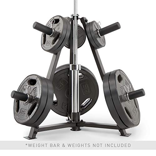 Marcy-6-Peg-Olympic-Weight-Plate-Tree-and-Vertical-bar-Holder-Storage-Rack-Organizer-for-Home-Gym-PT-5757-0-1