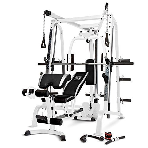 Marcy-Smith-Cage-Workout-Machine-Total-Body-Training-Home-Gym-System-with-Linear-Bearing-0-0