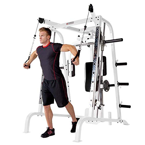 Marcy-Smith-Cage-Workout-Machine-Total-Body-Training-Home-Gym-System-with-Linear-Bearing-0-1