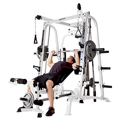 Marcy-Smith-Cage-Workout-Machine-Total-Body-Training-Home-Gym-System-with-Linear-Bearing-0-2