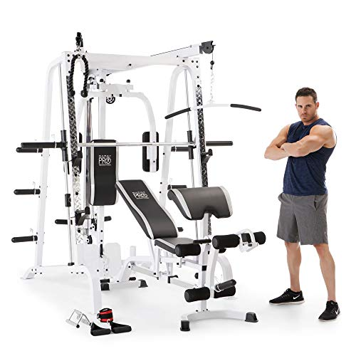 Marcy-Smith-Cage-Workout-Machine-Total-Body-Training-Home-Gym-System-with-Linear-Bearing-0