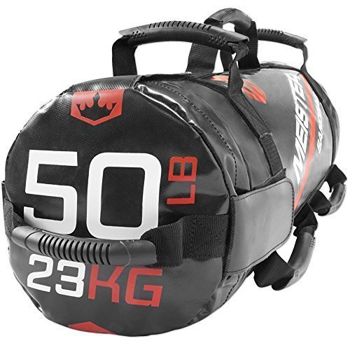 Meister-50lb-Elite-Fitness-Sandbag-Package-w-3-Removable-Kettlebells-0-3