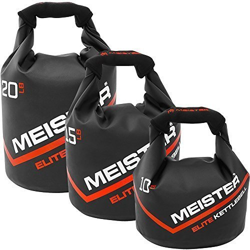 Meister-50lb-Elite-Fitness-Sandbag-Package-w-3-Removable-Kettlebells-0-4