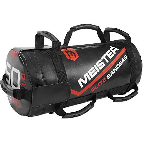 Meister-50lb-Elite-Fitness-Sandbag-Package-w-3-Removable-Kettlebells-0