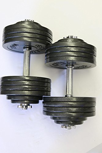 Omnie-Adjustable-Dumbbells-with-Gloss-Finish-and-Secure-Fit-Collars-for-Crossfit-WOD-Weightlifting-and-Bodybuilding-for-Health-Fitness-and-Flexibility-Available-in-65-LBS-105-LBS-and-200-LBS-Pair-0-3