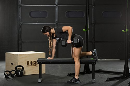 Rage-Fitness-Flat-Bench-Weightlifting-Training-1000-lb-Capacity-0-0