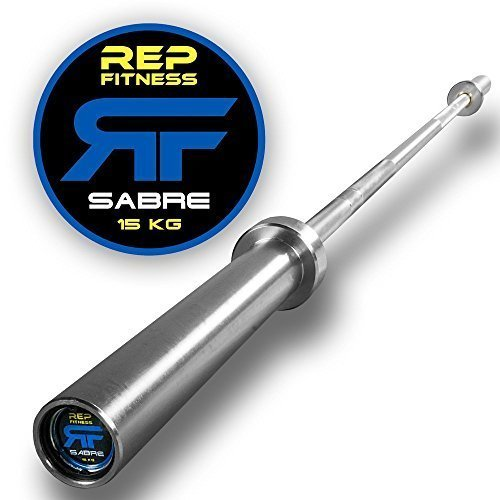 Rep-Sabre-Olympic-Bar-1000-lb-Rated-Barbell-for-Cross-Training-Olympic-and-Power-Lifting-0-0