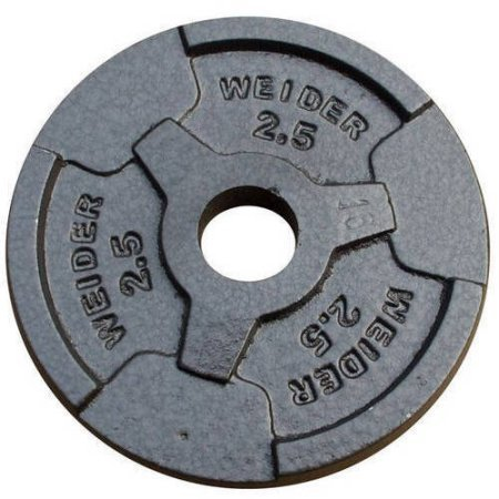 Smooth-Coated-Weights-for-Quiet-Lifts-Standard-Hammertone-Weight-Plate-Black-0