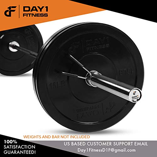 Spring-Clips-by-D1F-Set-of-2-for-2-Olympic-Barbell-Weight-and-Plates-Spring-Lock-Collars-for-Weightlifting-Strength-Training-Working-Out-Firm-Grip-Plate-Weight-Clamps-for-Gym-Bars-0-4