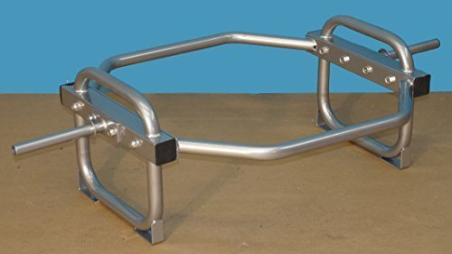 TDS-Shrug-Hip-Bar-with-Stand-for-Standard-Plates-400-Capacity-0
