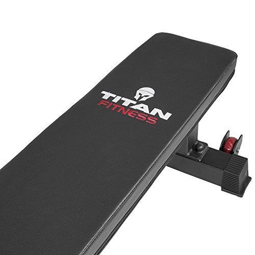 Titan-Fitness-Flat-Weight-Bench-1000-lb-Rated-Capacity-wHandle-Wheels-0-15