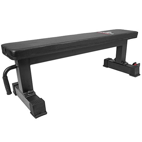 Titan-Fitness-Flat-Weight-Bench-1000-lb-Rated-Capacity-wHandle-Wheels-0-16