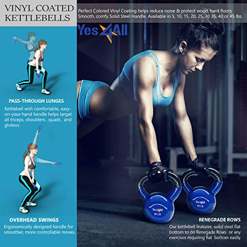 Yes4All-Combo-Special-Vinyl-Coated-Kettlebell-Weight-Sets--Weight-Available-5-10-15-20-25-30-lbs-0-4