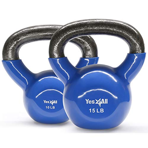 Yes4All-Combo-Special-Vinyl-Coated-Kettlebell-Weight-Sets--Weight-Available-5-10-15-20-25-30-lbs-0