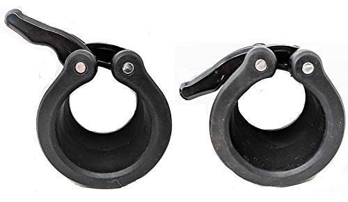 Clout-Fitness-Quick-Release-Pair-of-Locking-2-Olympic-Size-Barbell-Clamp-Collar-Great-for-Pro-Training-Workout-Weightlifting-Fitness-0-3