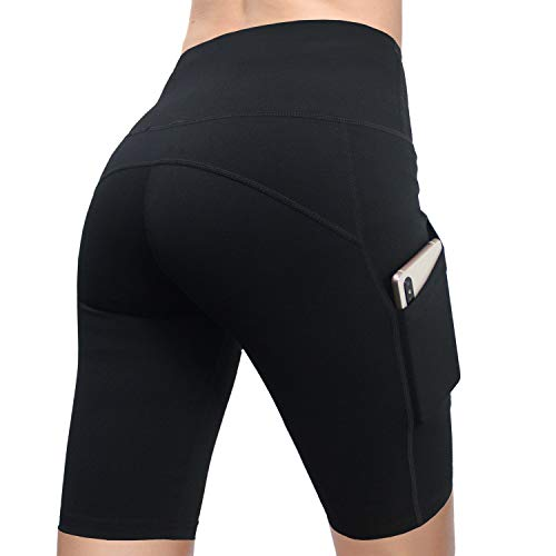 FIRM-ABS-Womens-48-High-Waist-Workout-Yoga-Shorts-Half-Tights-Tummy-Control-0-0