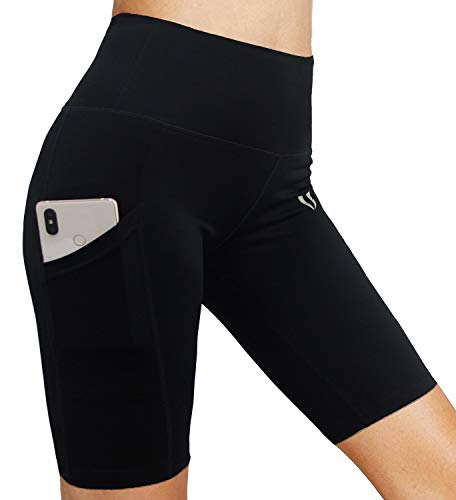 FIRM-ABS-Womens-48-High-Waist-Workout-Yoga-Shorts-Half-Tights-Tummy-Control-0