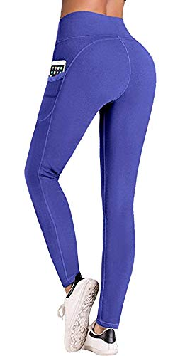 IUGA-High-Waist-Yoga-Pants-with-Pockets-Tummy-Control-Workout-Pants-for-Women-4-Way-Stretch-Yoga-Leggings-with-Pockets-0-3