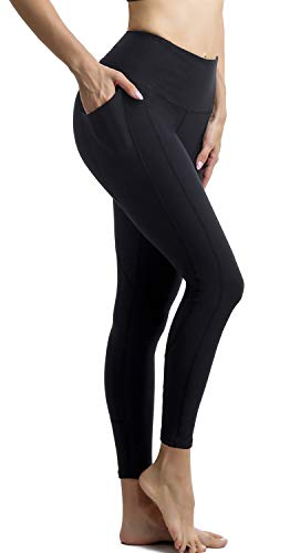 Persit-Womens-Premium-Yoga-Pants-with-Side-Inner-Pockets-Non-See-Through-Tummy-Control-4-Way-Stretch-High-Waist-Leggings-0