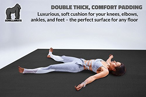 Premium-Extra-Large-Yoga-Mat-9-x-6-x-8mm-Extra-Thick-Comfortable-Non-Toxic-Non-Slip-Barefoot-Exercise-Mat-Yoga-Stretching-Cardio-Workout-Mats-Home-Gym-Flooring-108-Long-x-72-Wide-0-4