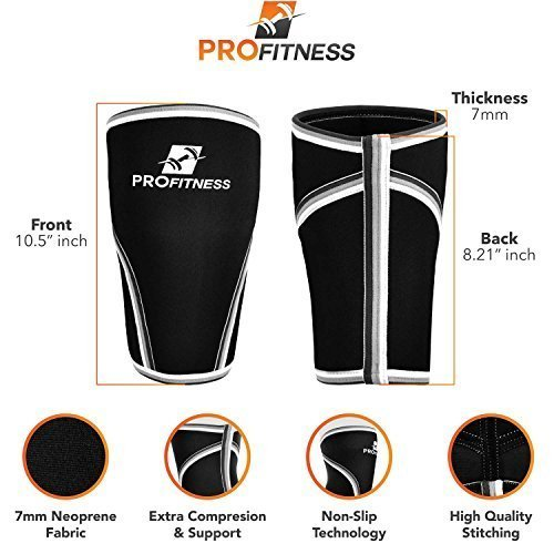 ProFitness-Knee-Sleeve-Squat-Support-and-Compression-for-Powerlifting-0-0