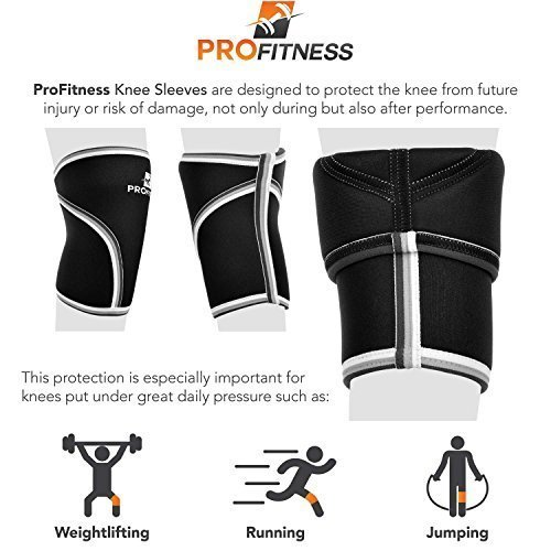 ProFitness-Knee-Sleeve-Squat-Support-and-Compression-for-Powerlifting-0-1