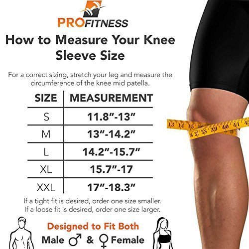 ProFitness-Knee-Sleeve-Squat-Support-and-Compression-for-Powerlifting-0-2
